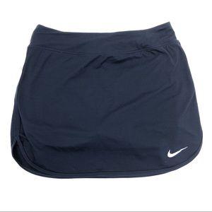 Nike Dri-Fit Navy blue golf or tennis skort - S